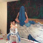 مصاحبه عصر آنارشیسم با تهمینه تومیریس به همراه تصاویری از نقاشی ها و هنر اعتراضی این هنرمند متعهد و خلاق