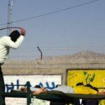 اجرای حکم وحشیانه و ضد انسانی شلاق و جزای نقدی ۲۰ نفر در قزوین «به دلیل روزهخواری» توسط #داعشیعه