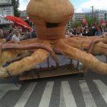 گزارشی از تظاهرات علیه جی بیست در هامبورگ