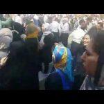 ویدئو درگیری شدید پلیس با مردم دزفول