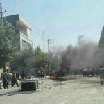 سری دوم ویدئو و عکسهای اعتصاب عمومی امروز در شهر بانه که بیش از ۱۰ نفر در اثر تیراندازی نیروهای سرکوبگر رژیم زخمی شدند