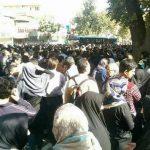 در حمایت از بانه و کولبران ، مردم کرمانشاه به خیابان آمدند و پنج فعال مدنی دستگیر شدند+ عکس