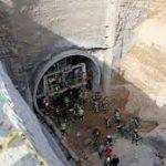 ۷ کشته و زخمی در ریزش تونل کوهرنگ و محبوس شدن یک کارگر در زیر آوار