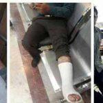 دو تظاهرات کارگری همزمان در اراک: شلیک هوایی ، ضرب و شتم ، بازداشت و زخمی شدن ده ها کارگر+ عکس و ویدئو