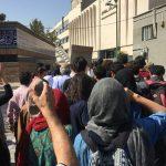 گزارشی از تجمع امروز در دفاع از #رضا_شهابی همراه با ویدئو و عکس
