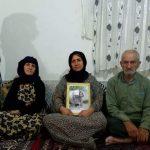توضیح ویدیویی امجد حسین پناهی در باره مادر و پدر رامین و فشارهای وارده بر آنها و بستری شدن مادر رامین
