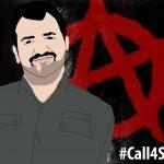 پوستری زیبا از سهیل عربی از طرف رفقای آنارشیست ترکیه  #Call4Soheil #همراه_با_مادر