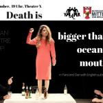 تئاتر «مرگ از دهان اقیانوس بزرگ تر است» روز شنبه ۴نوامبر برای سومین بار روی صحنه می رود