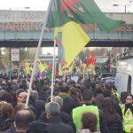 رفیق و هم قطار آنارشیست مهمت آکسوی با حضور هزاران نفر در لندن به خاک سپرده شد