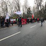 عکسهای تظاهرات اعتراضی امروز برای آزادی زندانیان سیاسی برابر سفارت حکومت اسلامی – استکهلم