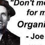 آنارشیست اعدامی «جو هیل» شاعر کارگری