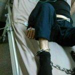 در همبستگی با محمود صالحی کارگر زندانی : زنجیر بر پای محمود صالحی