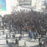 چند عکس و یک ویدئو از فضای امنیتی موجود در روز جمعه از مشهد