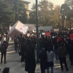 عکس و شعارهای دانشجویان دانشگاه تهران در تجمع اعتراضی به مناسبت #روزدانشجو