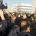 فیلم تظاهرات مردم قزوین