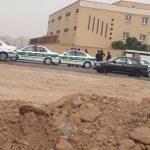 هجوم نیروى انتظامى و إجرائیات شهردارى به بساط فروشان در اهواز + فیلم و عکس