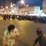 ویدئو سرکوب کردن تظاهرات شهر شادگان ۱۱دى ماه دوشنبه
