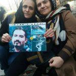 عکسها و ویدئویی از مقابل زندان اوین برای آزادی زندانیان سیاسی اعتراضات اخیر