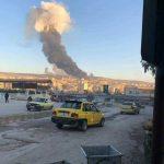 امروز جنگندە های ترکیه روستا ها ومر کز شهر #عفرین را بمباران کردند+ ویدئو