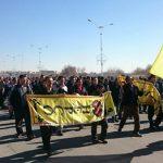 ویدئو تجمع اعتراضی کارکنان شرکت هپکو :  «فقط میگن آمریکا، دشمن ما همینجاست»