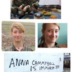 یاد رفیق #آنارشیست ما آنا کمپیل از انگلستان که در #عفرین جان باخت گرامی باد