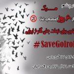 طوفان توییتری در حمایت از گلرخ ایرایی #SaveGolrokh