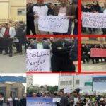 اسامی معلمان بازداشت شده  تجمع ۲۰ اردیبهشت ماه در مقابل سازمان برنامه بودجه #از_معلم_بگو