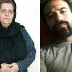 استمداد مادر سهیل عربی برای نجات جان فرزندش از مردم ایران و حمله به زندانیان سیاسی رجاییشهر