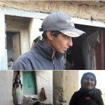 مریم دختر۲۷ ساله کُرد با لباس مردانه سختیهای کار را برای گذران زندگی مادر،خواهر معلول و پدر مریض به تن خرید