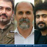 اعتصاب غذای خشک #سهیل عربی زندانی آنارشیست به همراه دو درویش زندانی دیگر در حمایت از دراویش مفقود شده زندانی