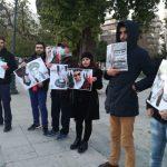 ویدئو تجمع خودسازماندهی شده مهاجران معترض در آتن علیه رژیم تمایت خواه جمهوری اسلامی