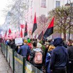 تصاویری از تظاهرات آنارشیست – سندیکالیست ها در اول ماه مه  ۲۰۱۹ در استکهلم – سوئد