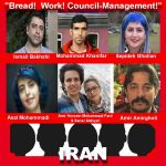 Seven Iranian Workers and Journalists have been sentenced to a total of 110 years in prison