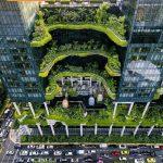 ساختمان سازگار با محیط زیست در سنگاپور!