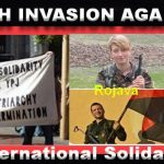 "STOP TURKISH INVASION AGAINST ROJAVA! حمله ی نظامی بر علیه ""رو ژا وا""  را متوقف کنیم"