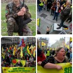 THOUSANDS of Kurds & friends showed solidarity with the resistance in Rojava against