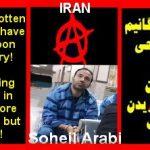 SOHEIL ARABI: L'ANARCHISME C'EST S'ENVOLER POUR TOUJOURS