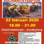 The International Solidarity Night in Stockholm