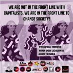 Women under lockdown all around the world