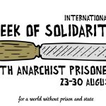 Call for International Week of Solidarity With Anarchist Prisoners 2020 // 23-30 August