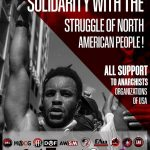 Solidarity with the Struggle of North American People