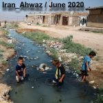 CHILDREN BATHE IN THE DRAIN IN IRAN + Video