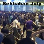 The Security forces shootings fired against people in Behbahan, Iran + Video