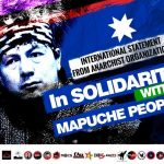 International Statement : SOLIDARITY WITH THE STRUGGLE OF THE MAPUCHE PEOPLE