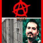 بیش از ۳ هفته از تداوم نگهداری سهیل عربی زندانی آنارشیست در سلول انفرادی می گذرد