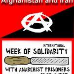 فراخوانِ هفته ی همبستگی جهانی با زندانیان آنارشیست؛ برای دُنیائی بدون دولت و زندان