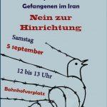 آکسیون پنجم زنان مستقل شهر کلن : صدای زندانیان و فعالین سیاسی و مدنی در ایران باشیم