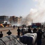 شورش دَستفروشان در بَلخ افغانستان